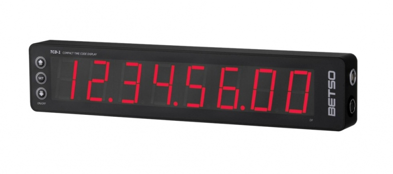New Time Code Display BETSO TCD-1